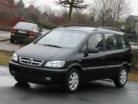 2004 Opel Zafira Overview
