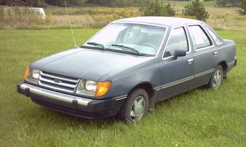 Ford Tempo 1990. 1984 Ford Tempo picture