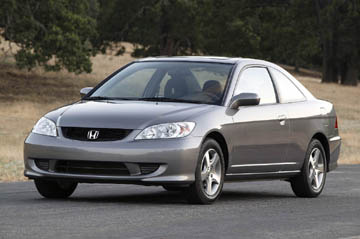 Picture of 2005 Honda Civic Coupe, exterior