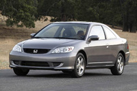 2005 Honda Civic Coupe Overview