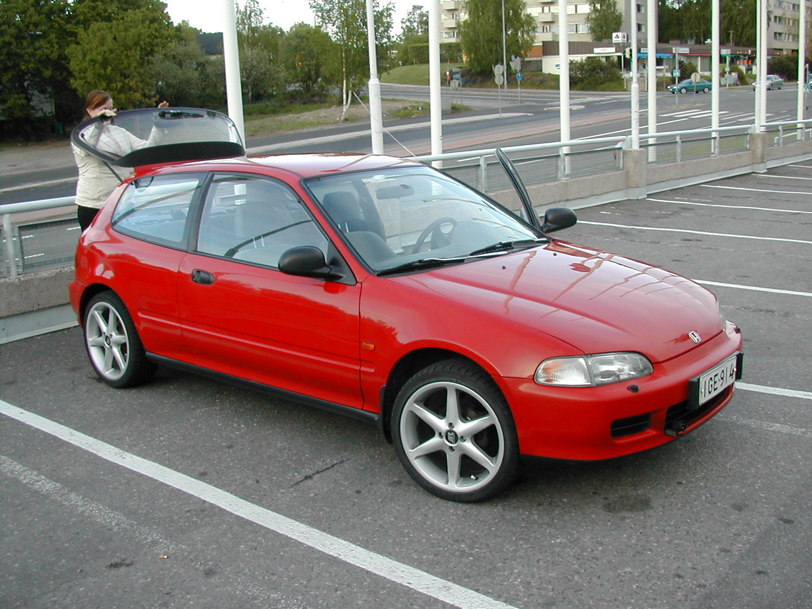 1993 honda civic hatchback - photo #4