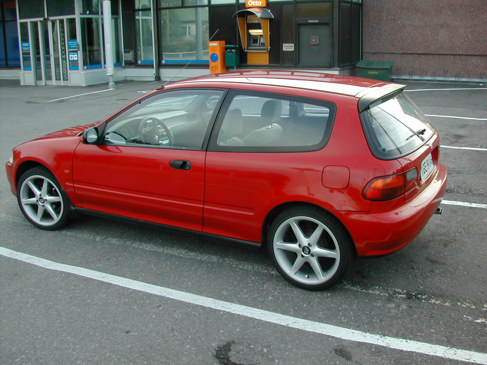 1993 honda civic hatchback - photo #2