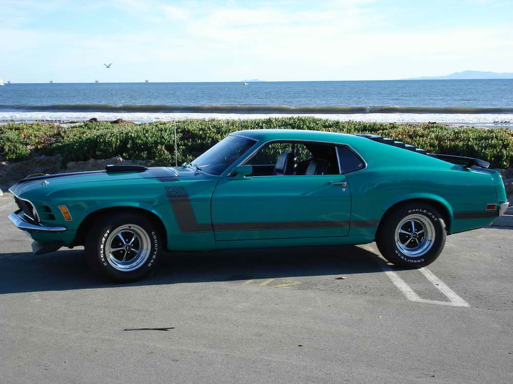 Ford Mustang 302 Boss. 1969 Ford Mustang Boss 302
