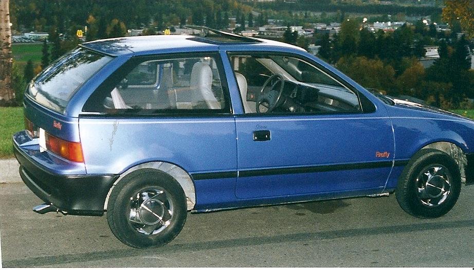 1989 Pontiac Firefly Pictures Cargurus