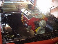 1973 Chevrolet El Camino picture, engine