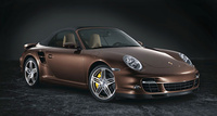 2008 Porsche 911 Turbo AWD Convertible, 2008 Porsche 911 Turbo Cabriolet picture, exterior, yellow