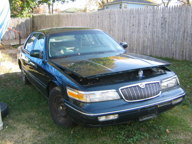 picture of 1997 mercury grand marquis 4 dr gs sedan. Black Bedroom Furniture Sets. Home Design Ideas
