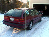 1993 Honda Accord EX Wagon, 1993 Honda Accord 4 Dr EX Wagon picture