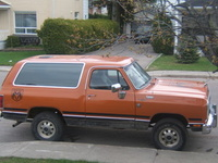 1990 Dodge Ramcharger picture, exterior