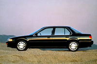 1993 Honda Accord SE Coupe, 1993 Honda Accord (4 door), exterior