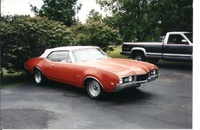 1968 Oldsmobile Cutlass Supreme picture, exterior