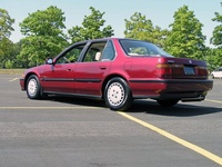 1991 Honda Accord LX, 1991 Honda Accord 4 Dr LX Sedan picture