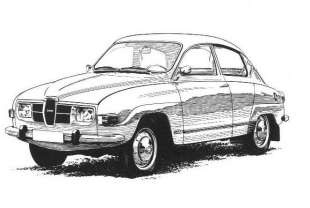 Picture of 1973 Saab 99