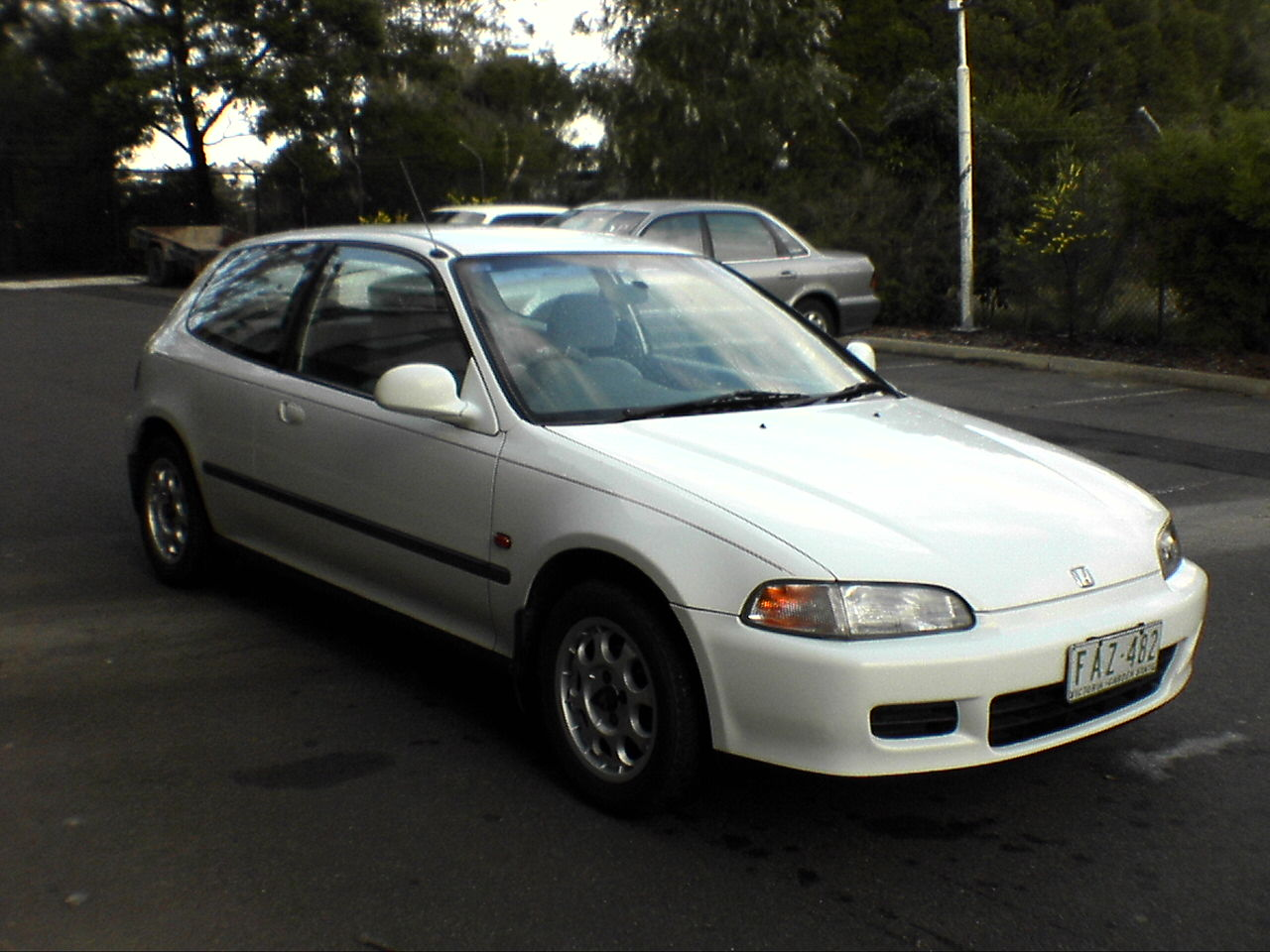 1993 honda civic hatchback - photo #9
