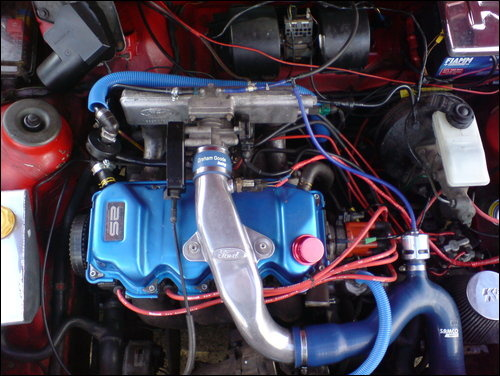 Picture of 1990 Ford Escort, engine, gallery_worthy