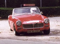1961 MG Midget Picture Gallery