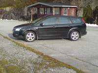 2007 Ford Focus ZX5 SES, Picture of 2007 Ford Focus 5 Dr SES Hatchback, exterior