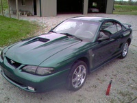 1996 Ford Mustang STD Coupe, 1996 Ford Mustang 2 Dr STD Coupe picture