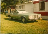 1974 Pontiac Grand Prix, Here she is not long after I got her, I was 12 and washed log truck rain, snow or shine for 6 months to pay for her., exterior