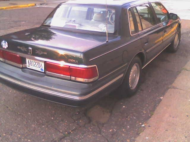Picture of 1992 Lincoln Continental Signature FWD, exterior, gallery_worthy