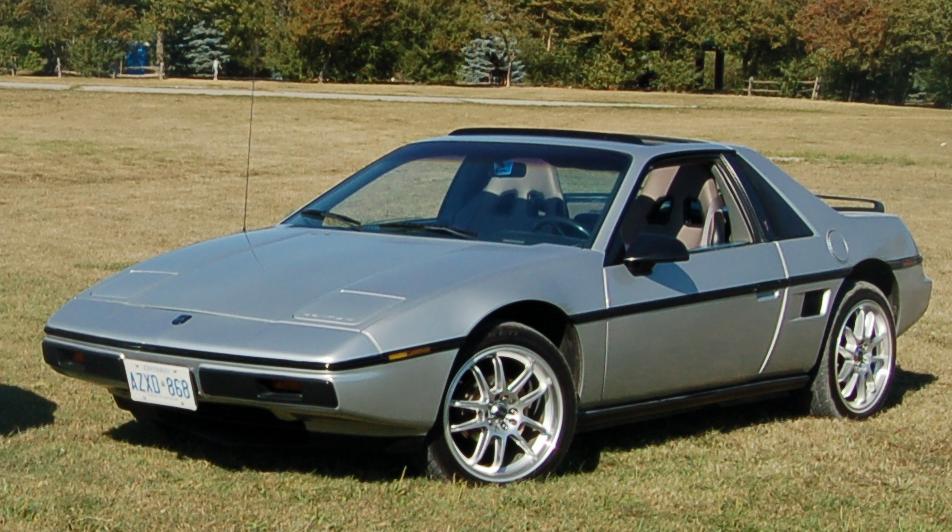 1986 Pontiac Fiero Base - Pictures - 1986 Pontiac Fiero Base ...