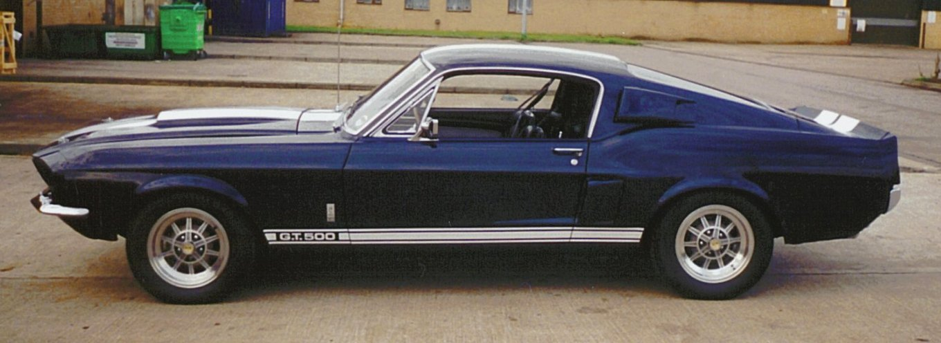 1967 Ford Mustang Shelby GT500, 1966 Shelby Cobra picture