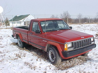 1990 Jeep Comanche Overview