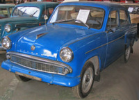 1958 Moskvitch 402 Overview