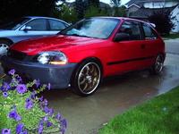 1997 Honda Civic CX Hatchback, 1997 Honda Civic 2 Dr CX Hatchback picture, exterior