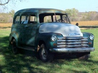 1951 Chevrolet Suburban Overview