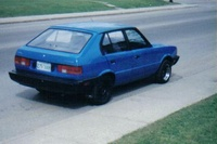 1987 Hyundai Pony Overview