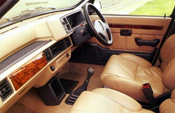 Picture of 1991 Rover Metro, interior, gallery_worthy