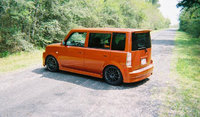 "2004 Scion xB 5-Door, RS1.0 #672 of 2100. Lowered on Tanabe DF210's yielding 2.5"" settled, rolling on 17x7 ProRace light-weight rims wrapped in 245/40/17 Zeon ZPT's, exterior,..."