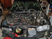 1990 Honda Accord EX, 1990 Honda Accord 4 Dr EX Sedan picture, engine