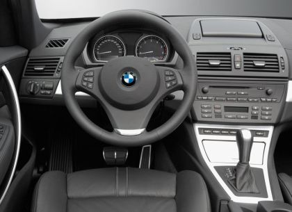 sport and car view: bmw x3 interior