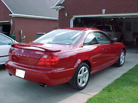 2001 Acura CL 2 Dr 3.2 Type-S Coupe picture, exterior