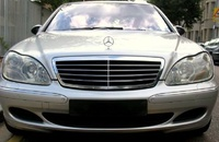 2003 Mercedes-Benz S-Class 4 Dr S500 Sedan, 2003 Mercedes-Benz S500 STD picture, exterior