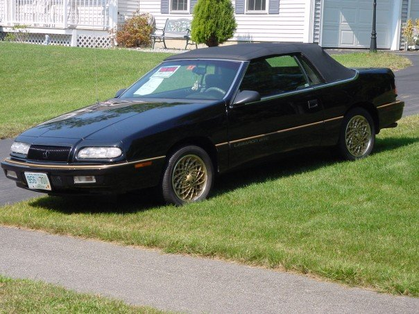 1994 Chrysler Lebaron Gtc. 1994 Chrysler Le Baron