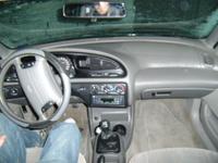 1998 Ford Contour 4 Dr SE Sedan picture, interior