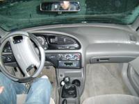 1998 Ford Contour 4 Dr SE Sedan picture, interior