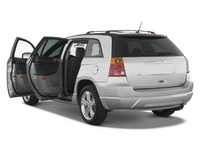 2008 Chrysler Pacifica LX AWD, back, exterior