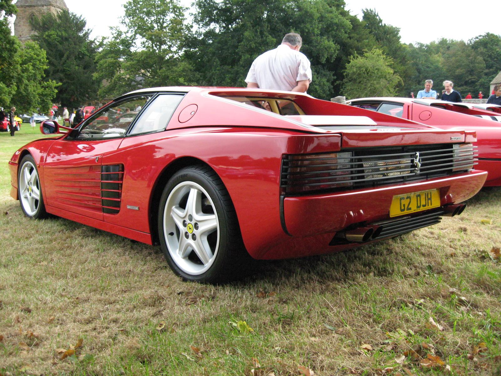 1992 Ferrari 512TR - Pictures - 1991 Ferrari Testarossa pictur ...