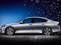 2008 Infiniti M45, side view, exterior, manufacturer