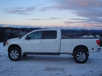 Picture of 2008 Nissan Titan LE Crew Cab LB 4WD, exterior, gallery_worthy