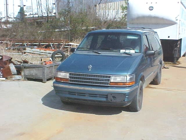 Picture of 1993 Chrysler Voyager, exterior