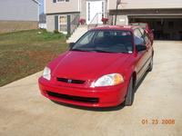 1997 Honda Civic DX Hatchback, 1997 Honda Civic 2 Dr DX Hatchback picture, exterior