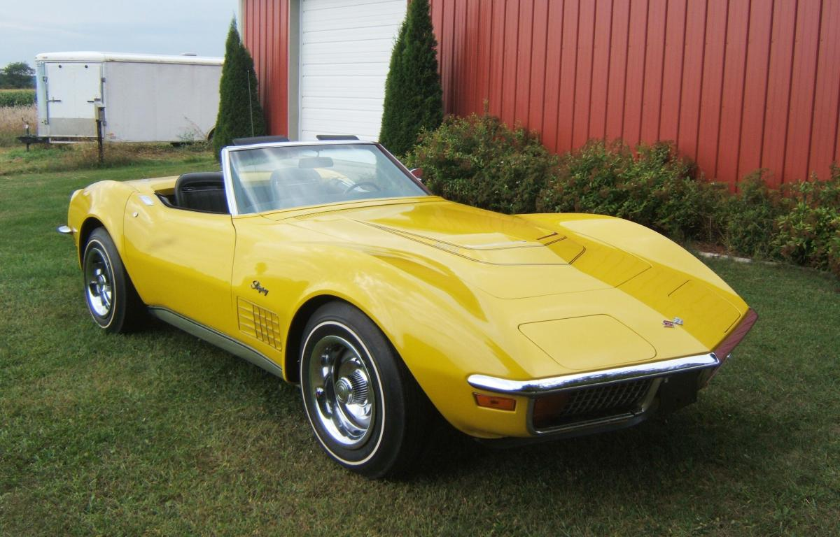 picture of 1972 chevrolet corvette convertible exterior. Cars Review. Best American Auto & Cars Review