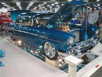 1957 Chevrolet Bel Air, 1974 Chevrolet Bel Air picture, exterior