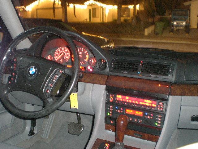 Picture Of 1999 Bmw 7 Series 750li Interior