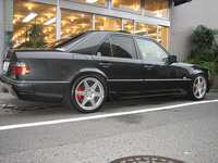 1994 Mercedes-Benz E-Class E500, Picture of 1994 Mercedes-Benz E500, exterior